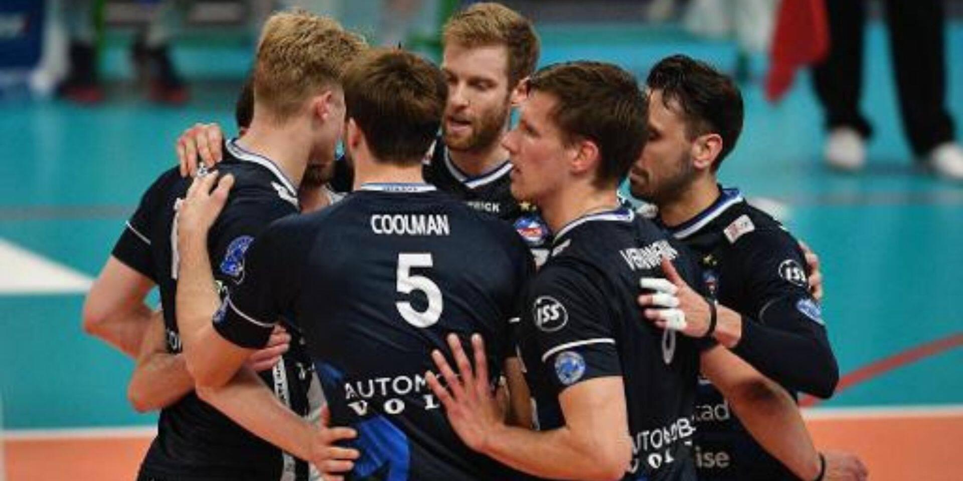 Coupe de Belgique de volley: Roulers bat Maaseik et s'offre sa 14e Coupe de Belgique, la 6e d'affilée