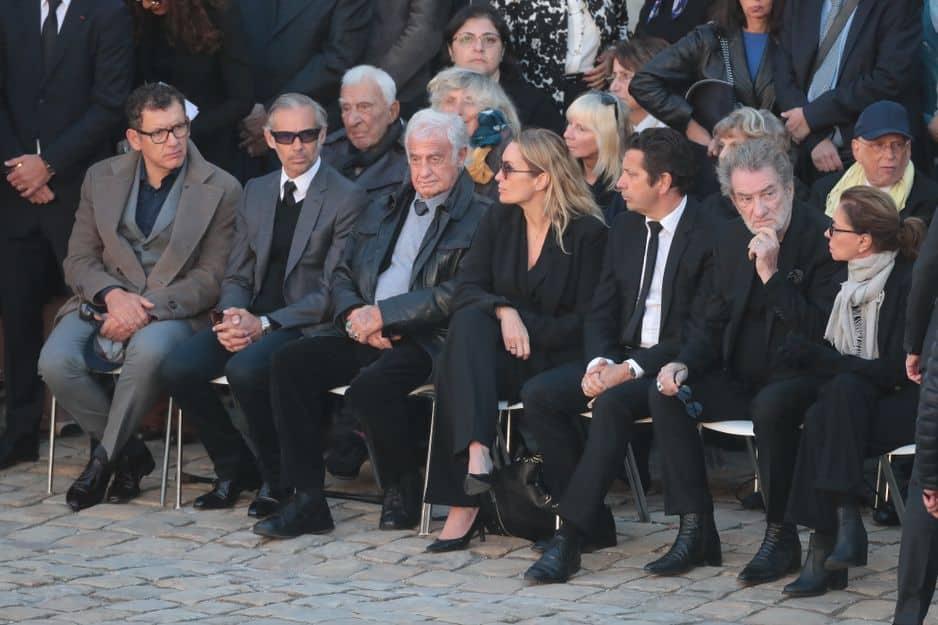 Dany Boon, Paul Belmondo, Jean-Paul Belmondo, Charles Gerard, Eddy Mitchell et Laurent Gerra