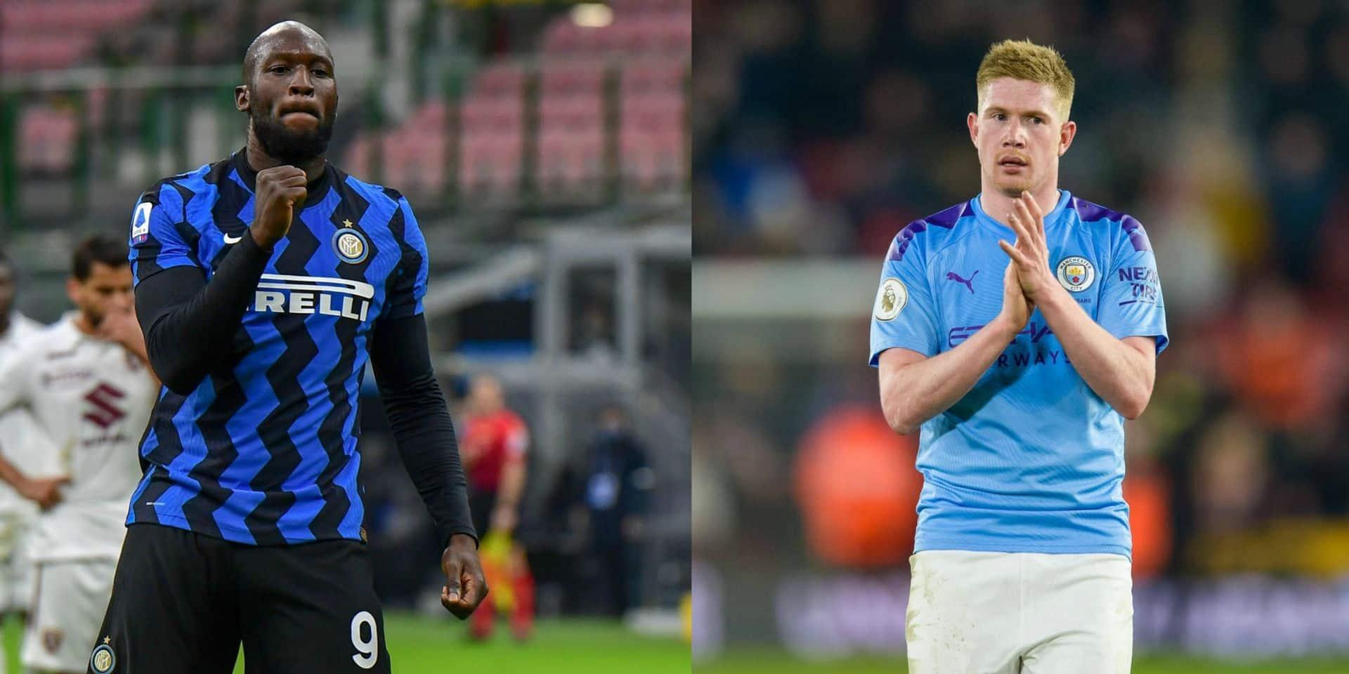 Romelu Lukaku et Kevin De Bruyne nominés pour l'Equipe de l'Année sur le site de l'UEFA