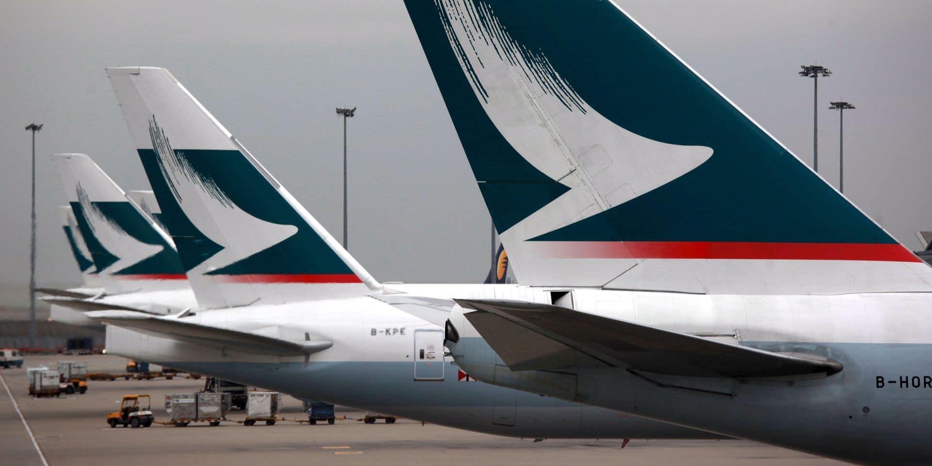 Tensions à Hong Kong: le directeur général de Cathay Pacific, Rupert Hogg, a démissionné