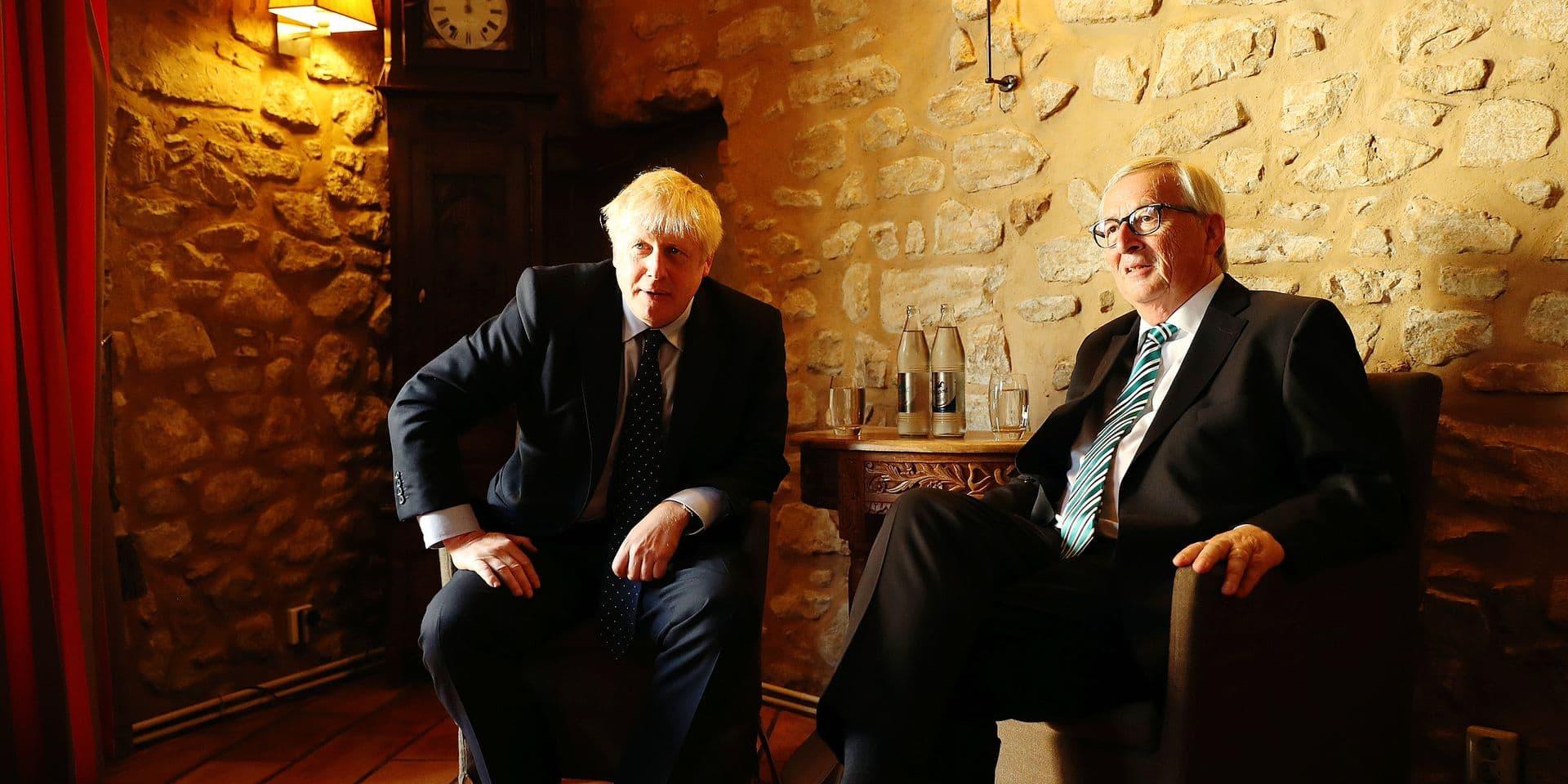 """Johnson a fait le déplacement jusqu'à Luxembourg pour rien: """"Nous n'avons reçu aucune proposition"""""""