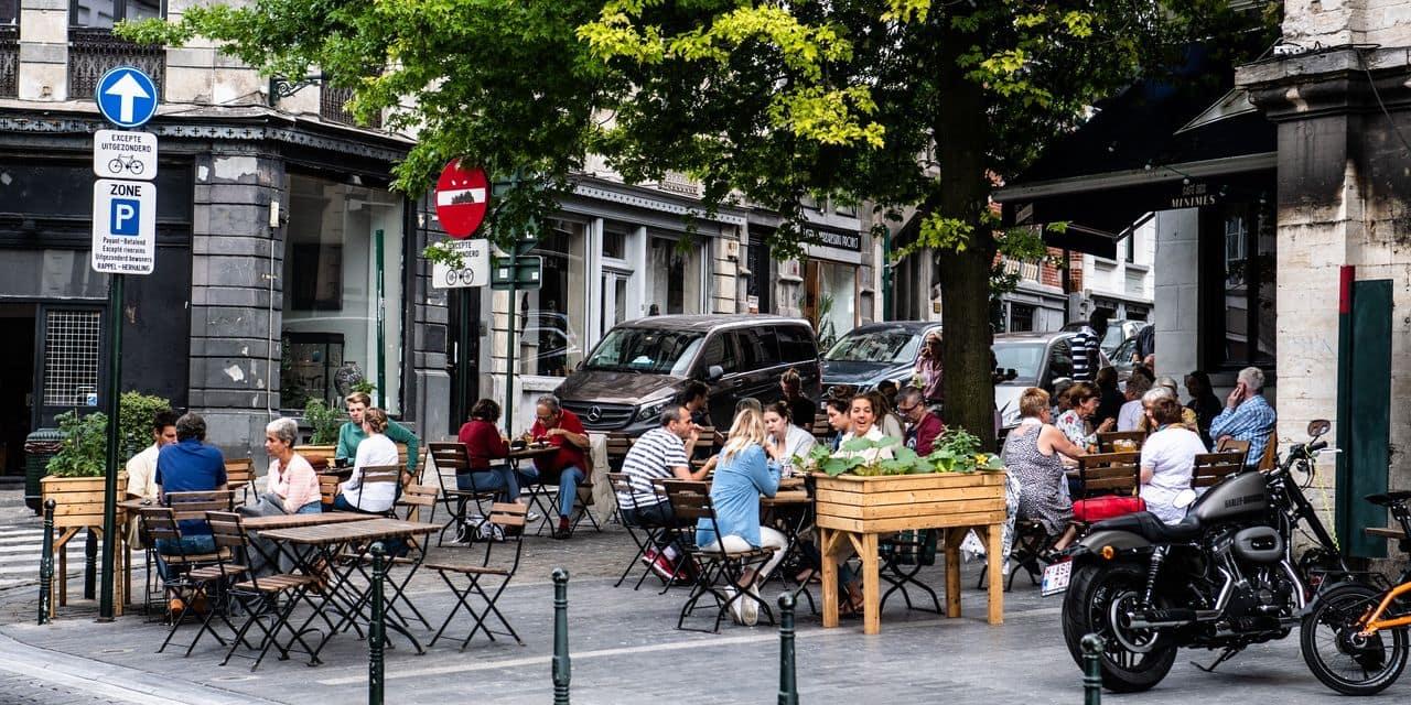 """Plus de 6 exploitants Horeca sur 10 ont rouvert leur terrasse ce samedi: """"Nous pouvons parler d'un succès, mais la route est encore longue"""""""