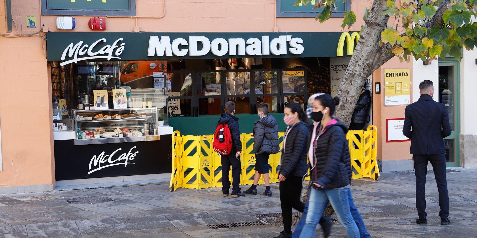 McDonald's Belgique va ouvrir une dizaine de restaurants cette année, malgré la chute de ses bénéfices