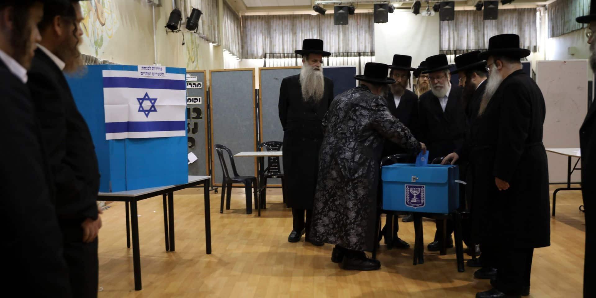 L'impasse politique est confirmée en Israël par les résultats quasi définitifs publiés ce vendredi