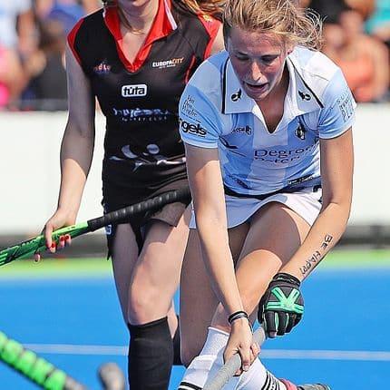 Hockey euro hockey Challenge 2 Gantoise-Zuvedra 7 buts à l'Euro : Anne-Sophie Vanden Borre, meilleure buteuse du tournoi