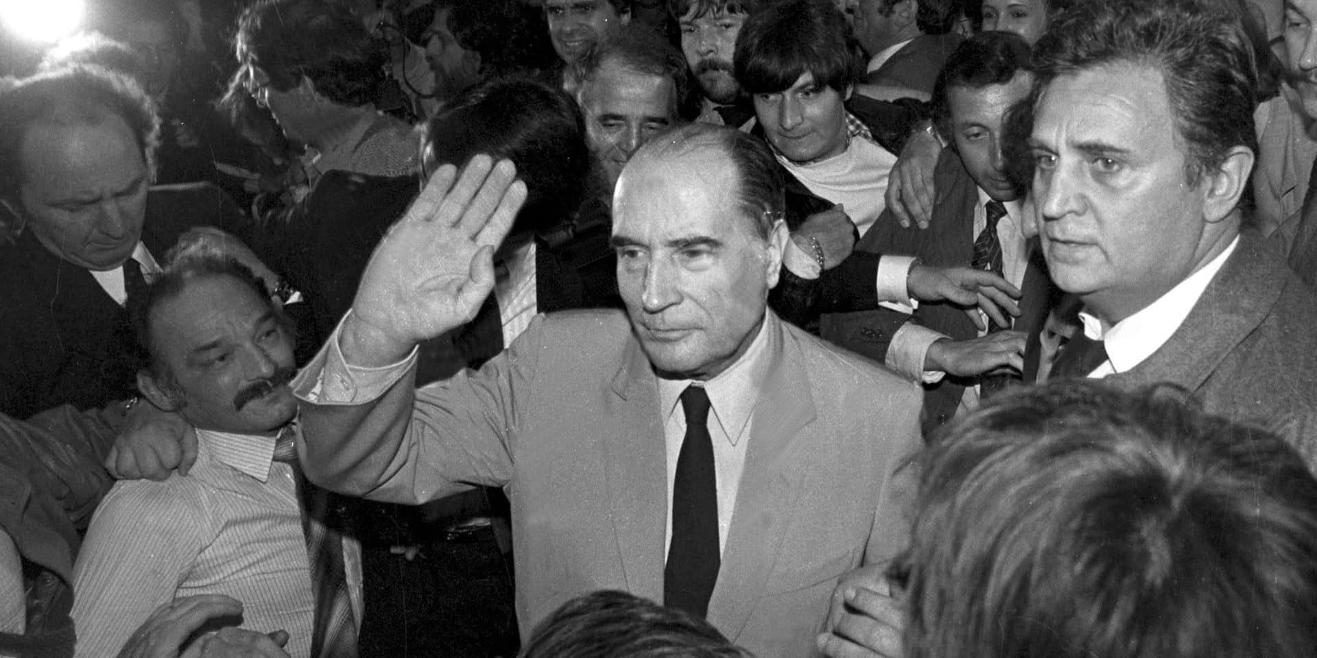 ELECTION MITTERRAND 1981