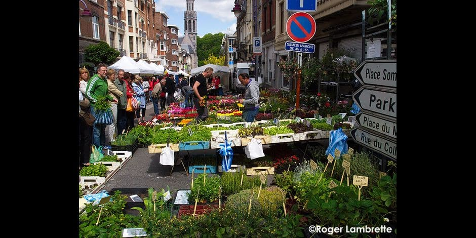Verviers : le retour du marché malgré les restrictions