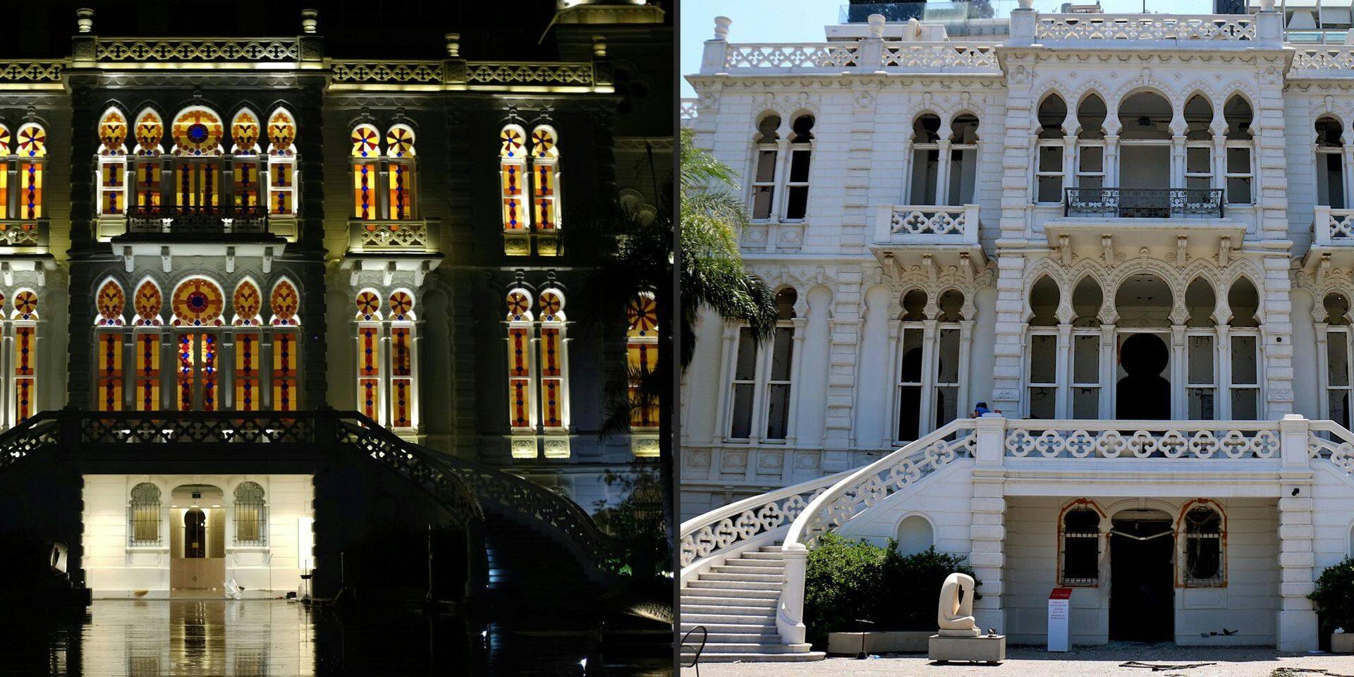 À Beyrouth, l'explosion a aussi ravagé des joyaux architecturaux