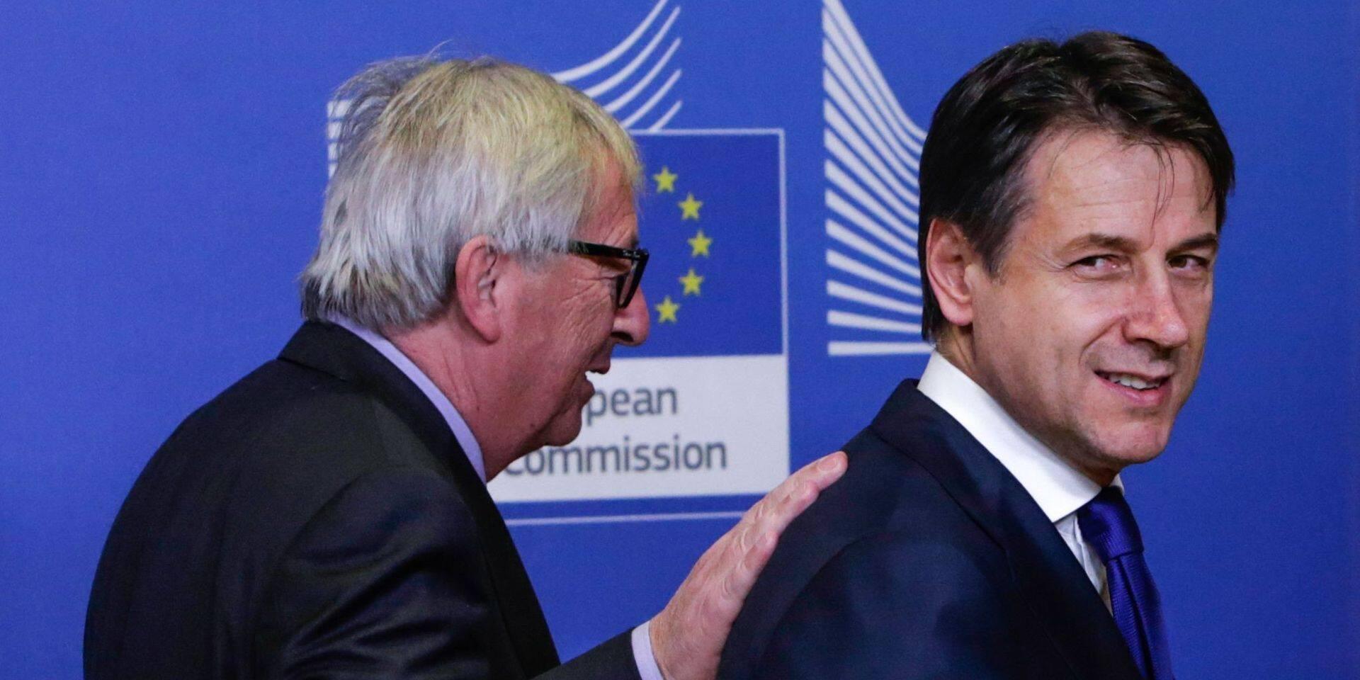 Sous la pression européenne, l'Italie met un genou à terre