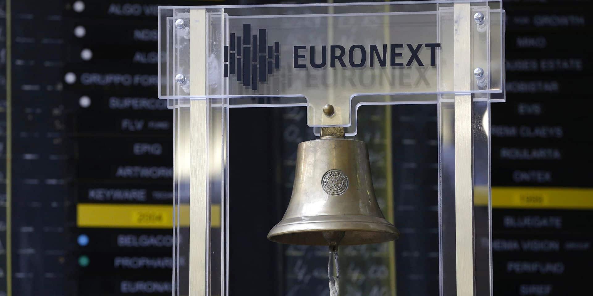 Les Bourses européennes terminent en baisse, le Bel 20 perd presque 2%
