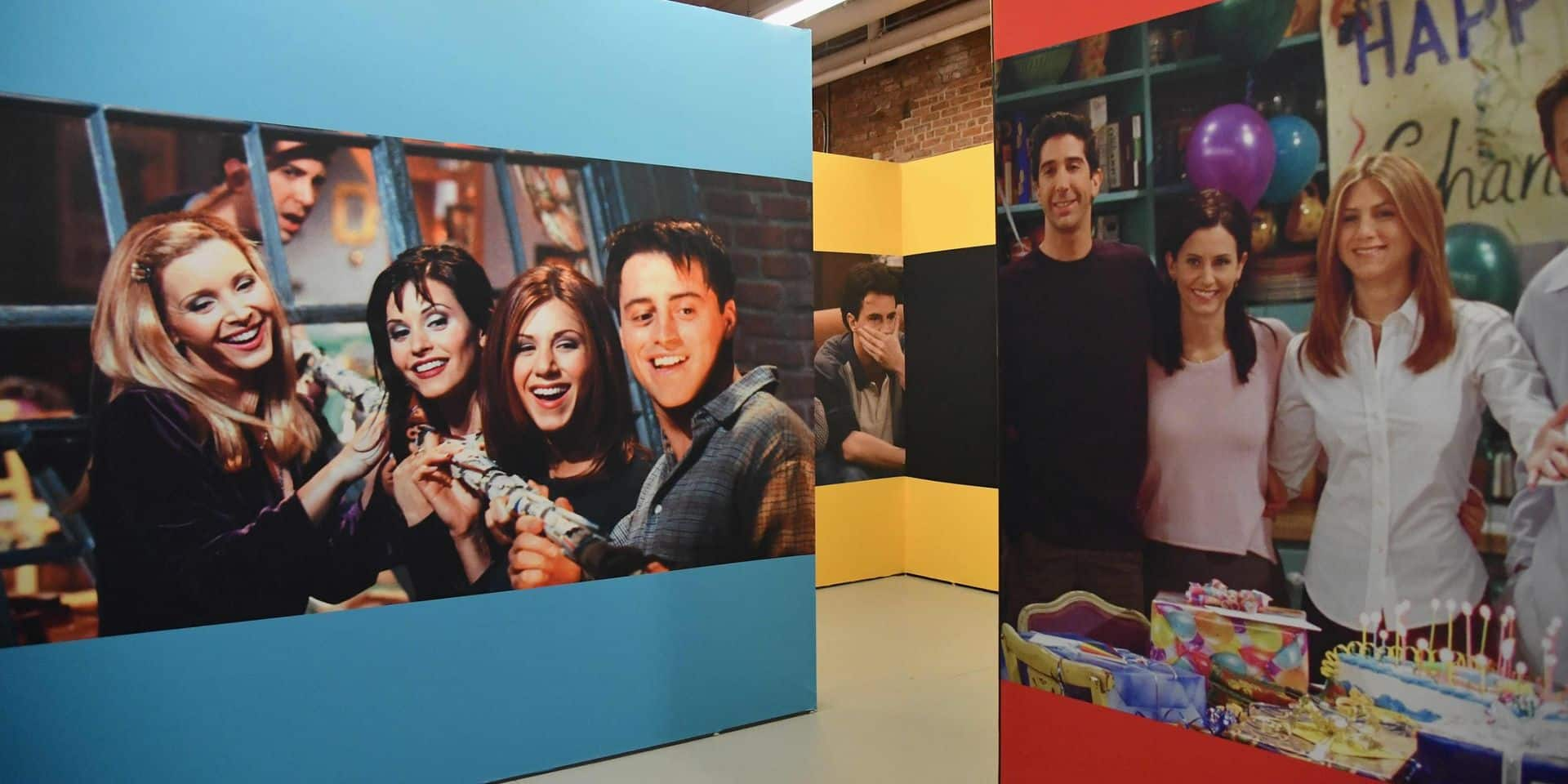 """Pour ses 25 ans, la série """"Friends"""" s'offre un """"pop-up store"""" à New York"""