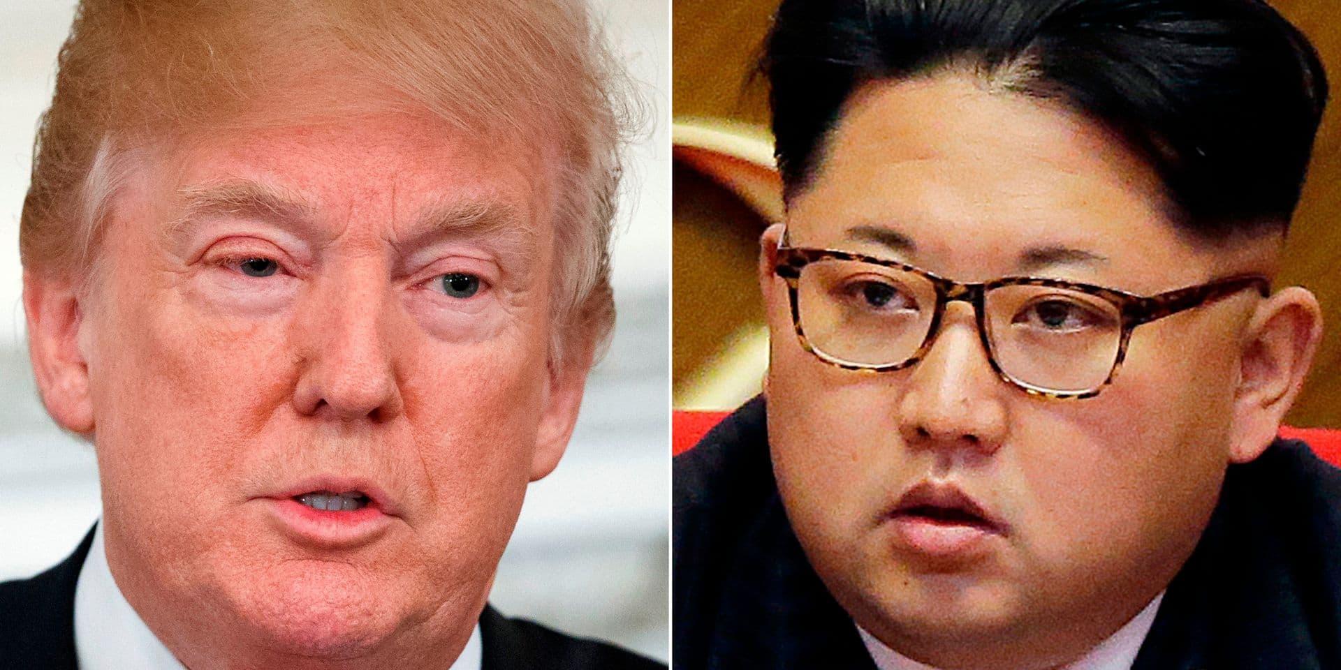 """Donald Trump Kim Jong comme """"très ouvert et très honorable"""""""
