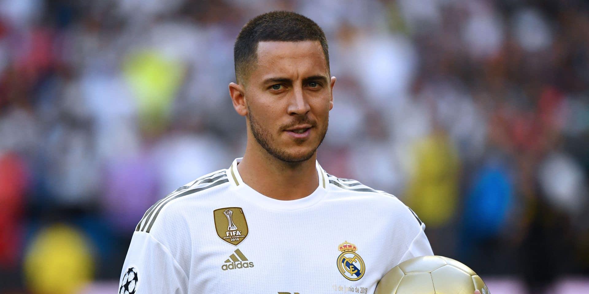 Voici le numéro qu'Eden Hazard aurait enfin choisi