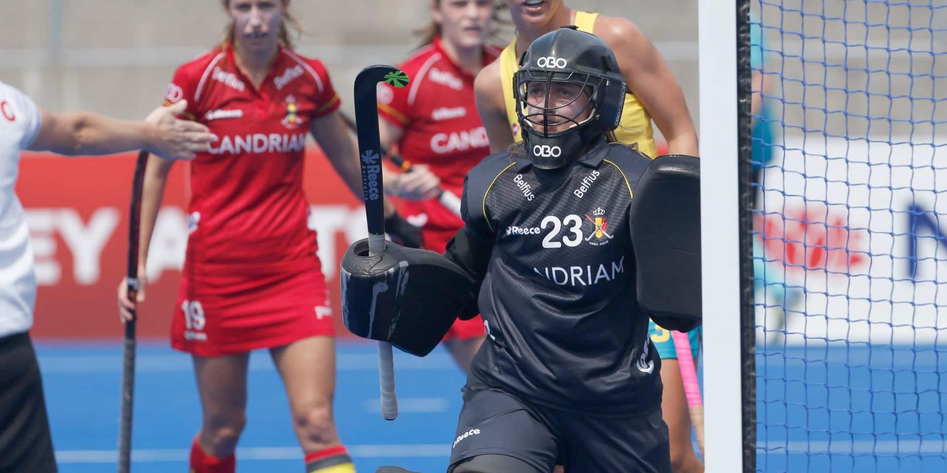 Euro de hockey : les deux gardiennes belges se partageront la cage dimanche en ouverture contre l'Allemagne
