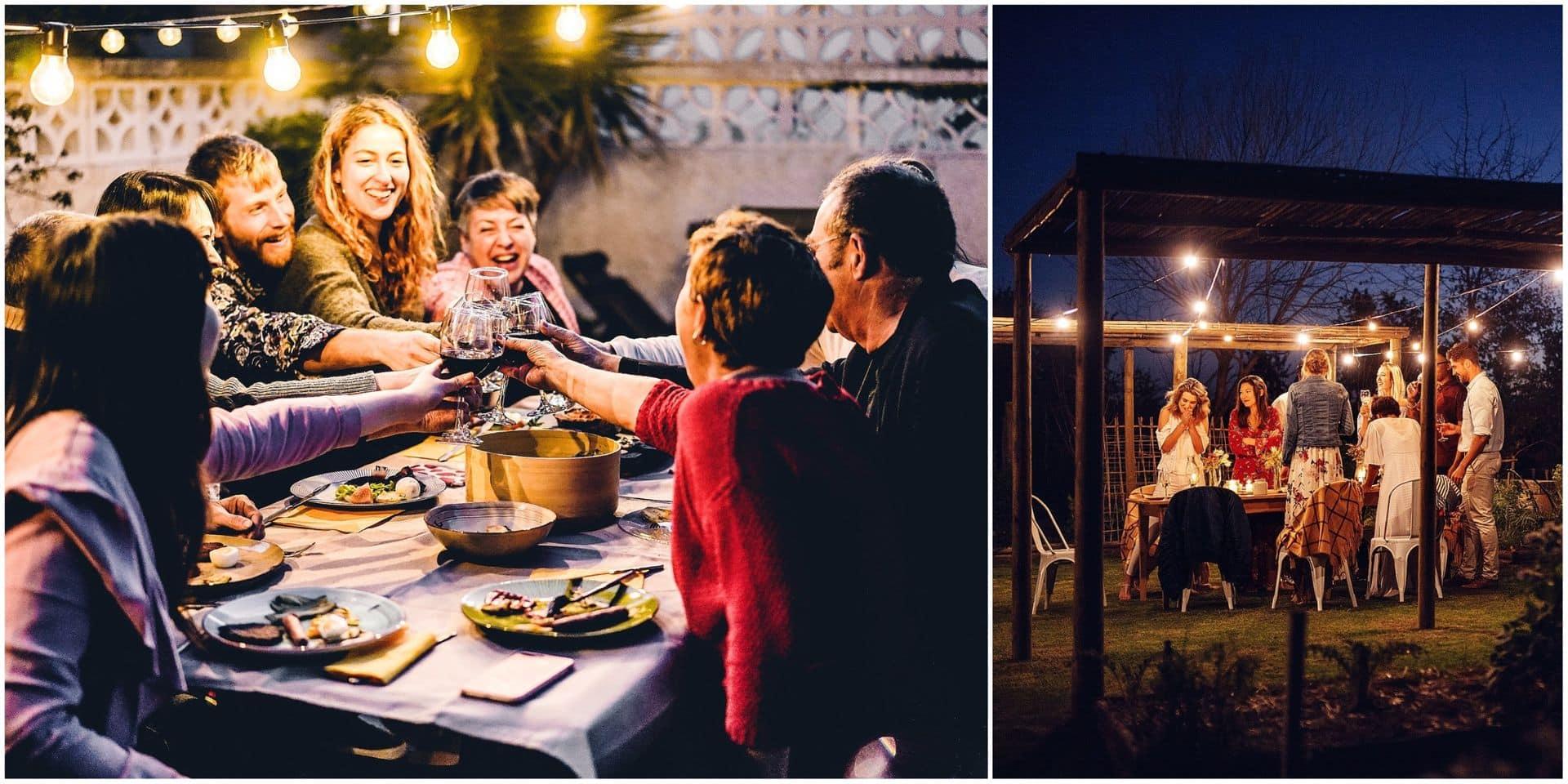 """Comment la """"bulle de cinq"""" met fin aux fêtes et aux dîners entre amis"""