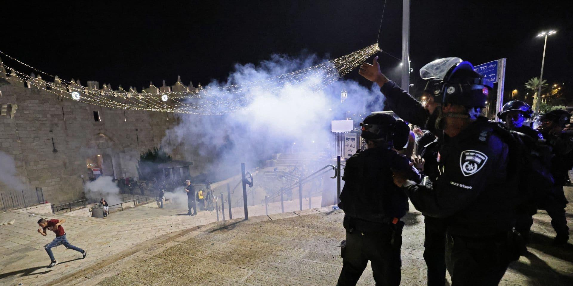 L'UE appelle à la fin immédiate des violences entre Israéliens et Palestiniens