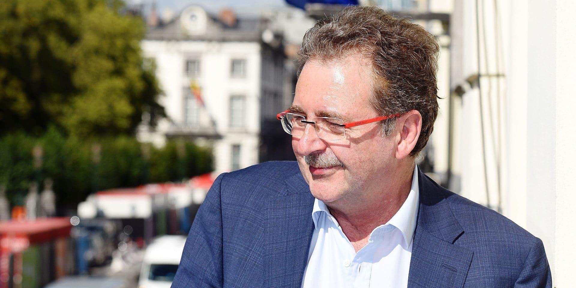Rudi Vervoort ministre president region Bruxelles capitale PS
