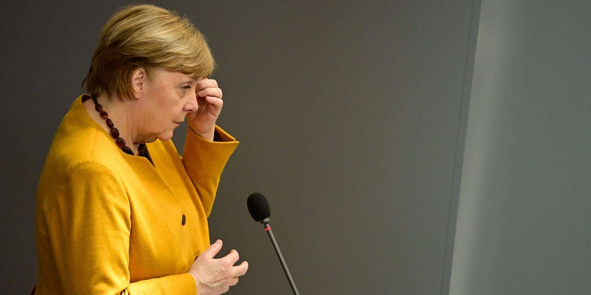 """Restrictions pour Pâques: Angela Merkel reconnaît """"une erreur"""" et demande """"pardon"""""""