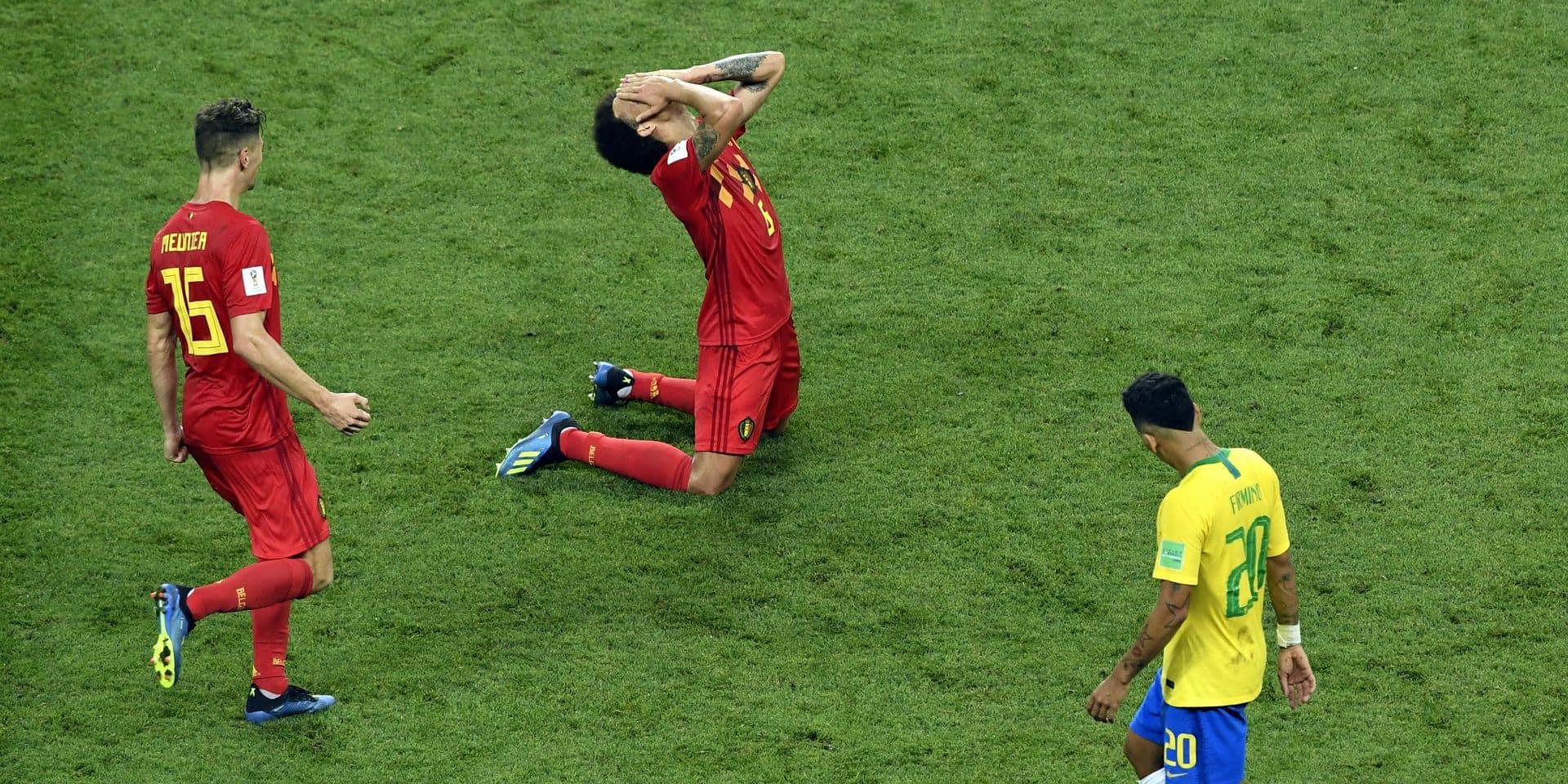 La joie et l'humour des Diables rouges sur Twitter après l'élimination du Brésil