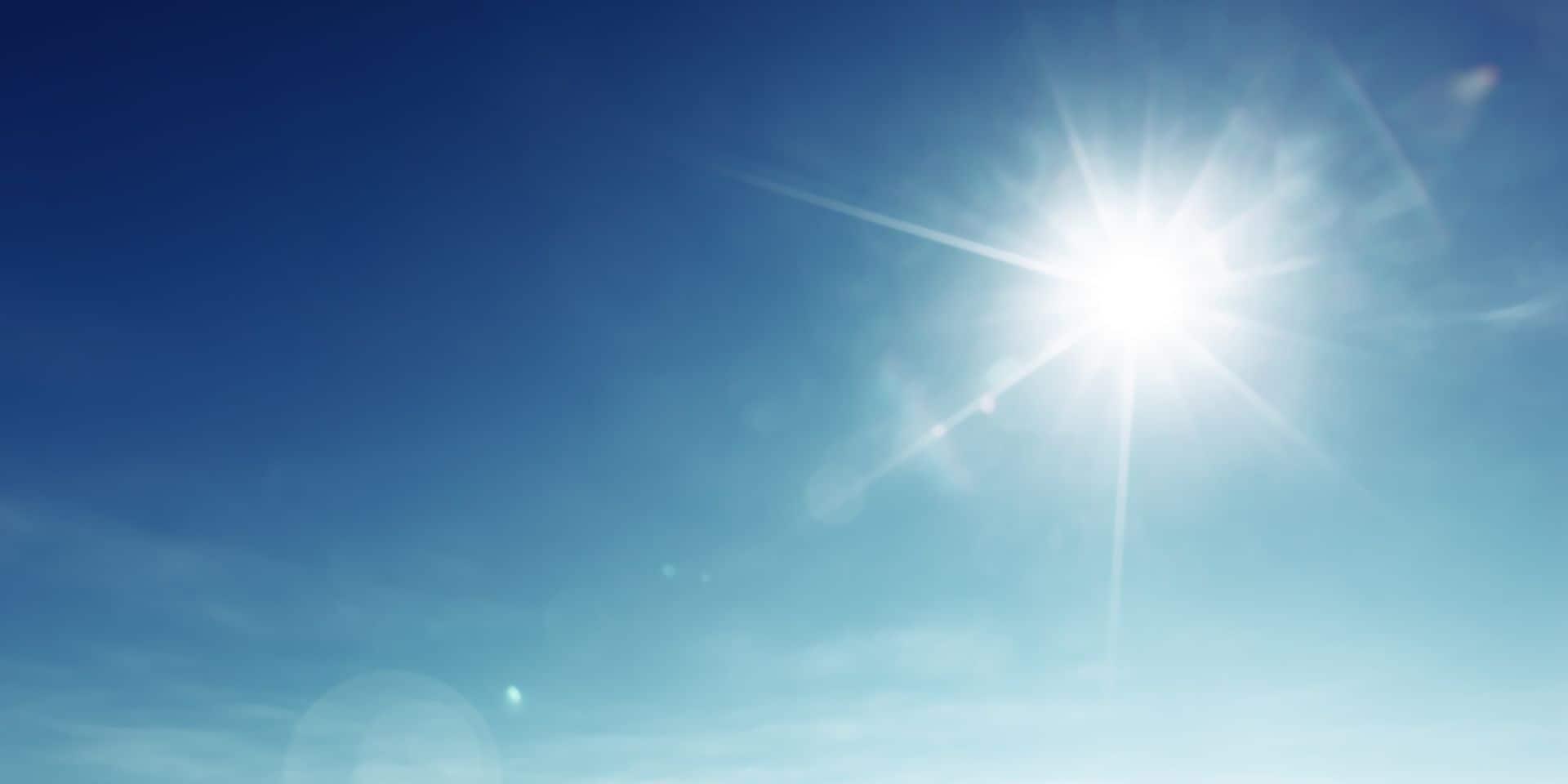 Bonne nouvelle en vue de la réouverture des terrasses: jusqu'à 26° degrés attendus dimanche !