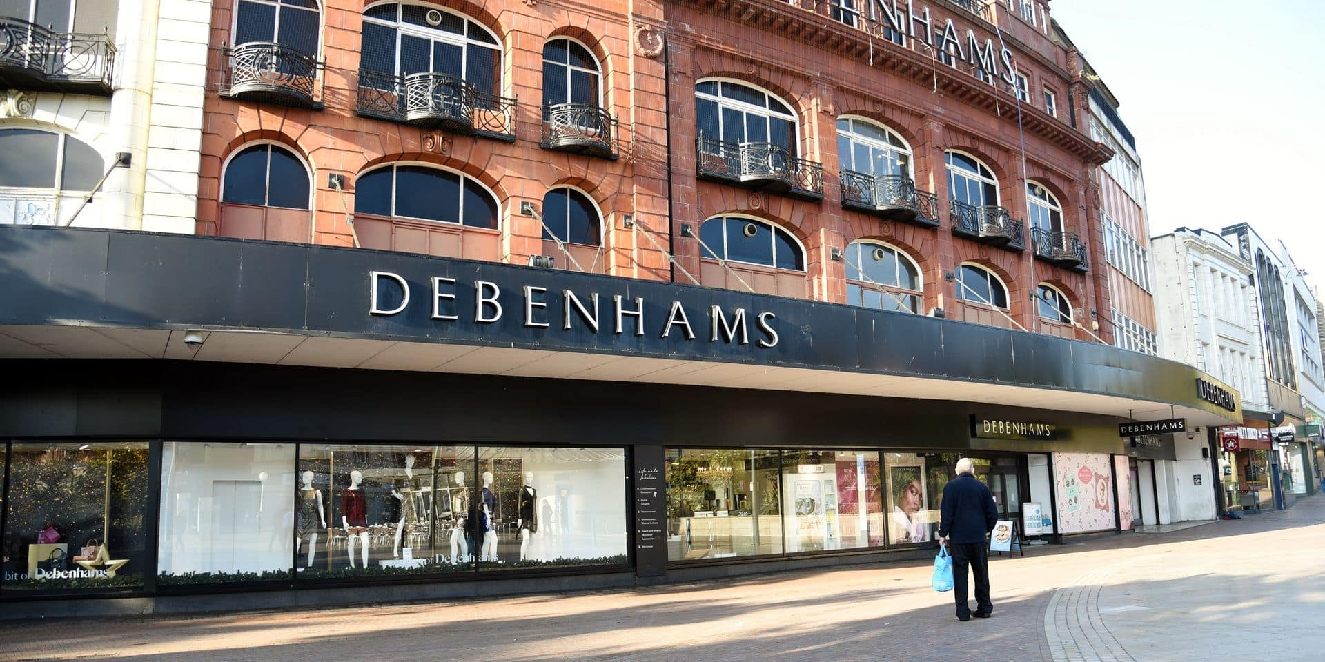 Les supermarchés Debenhams supprime 2.500 emplois