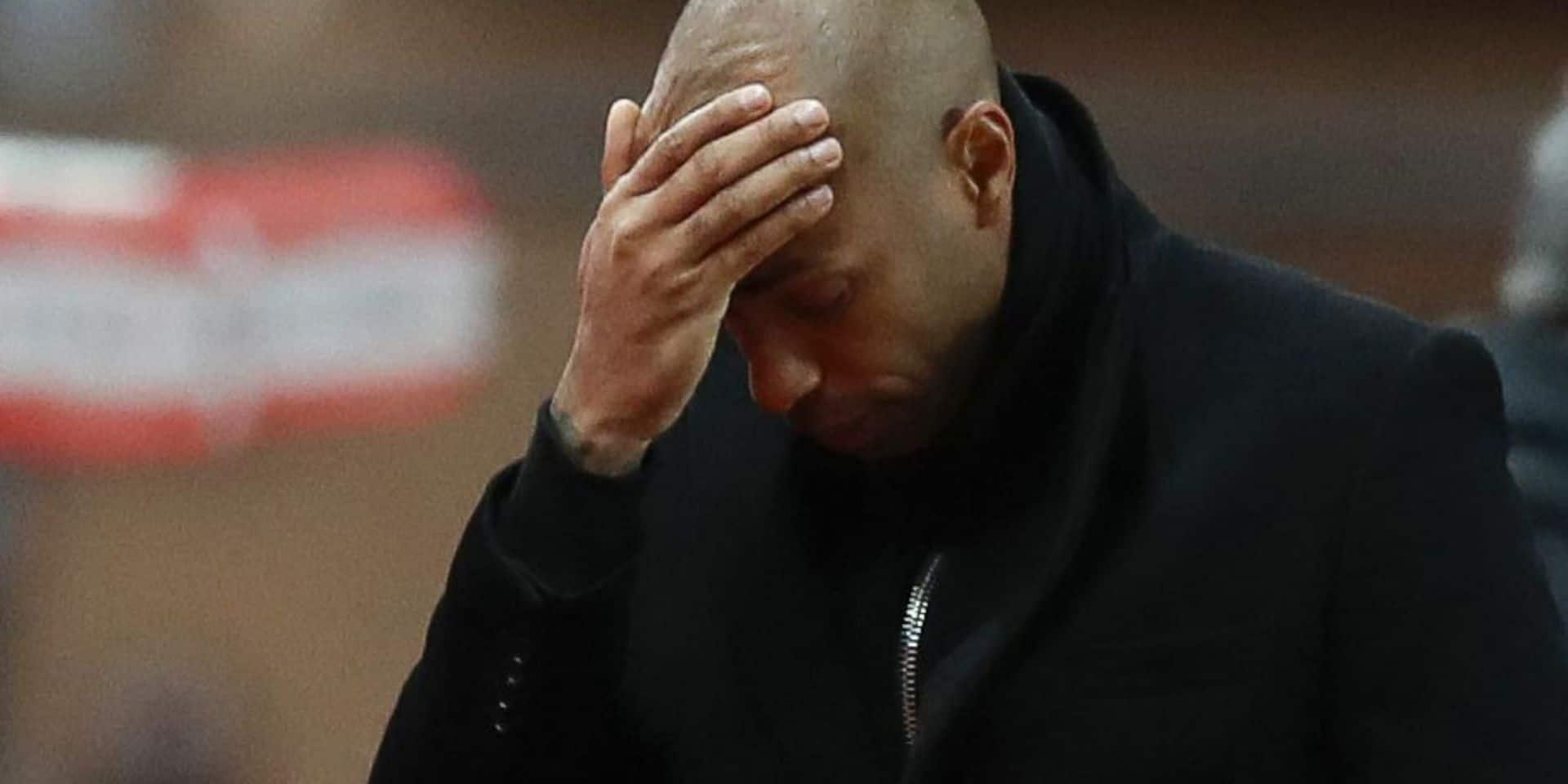 """Pour Thierry Henry, c'est un retour à la case départ : """"Soit tu gagnes, soit tu apprends"""""""