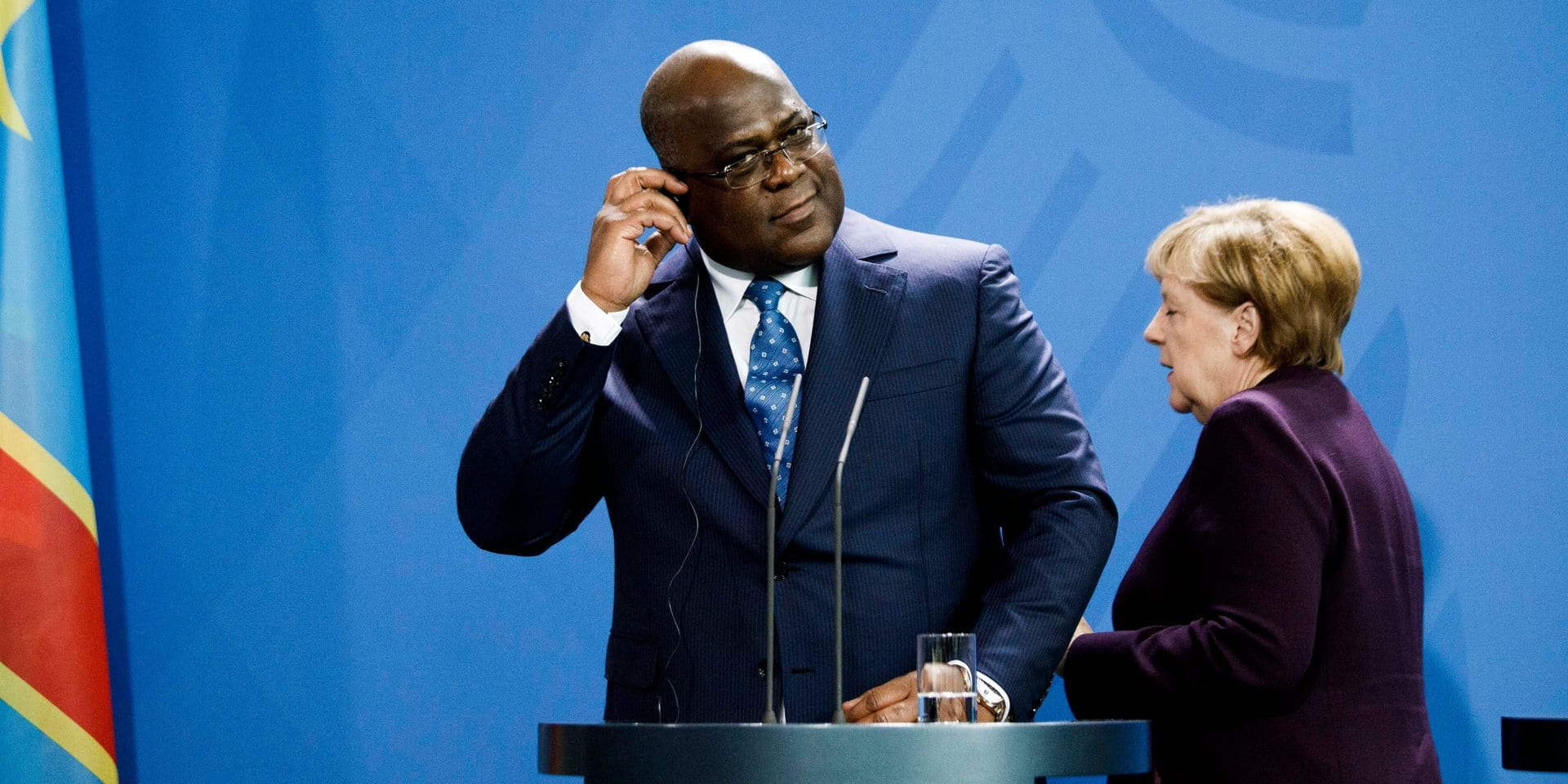 Merkel receives President of the Democratic Republic of Congo