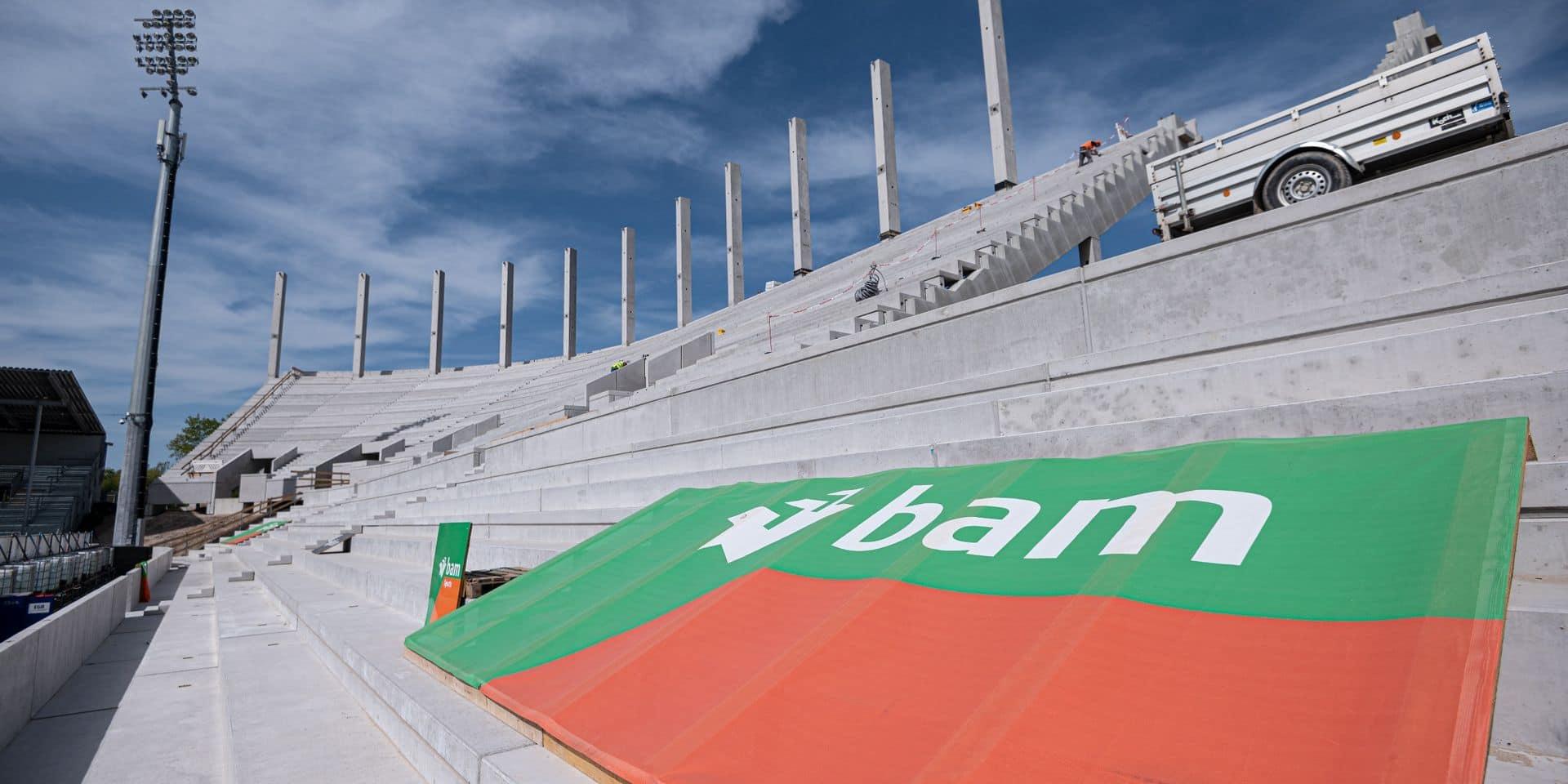L'entreprise de construction BAM pourrait céder sa filiale belge