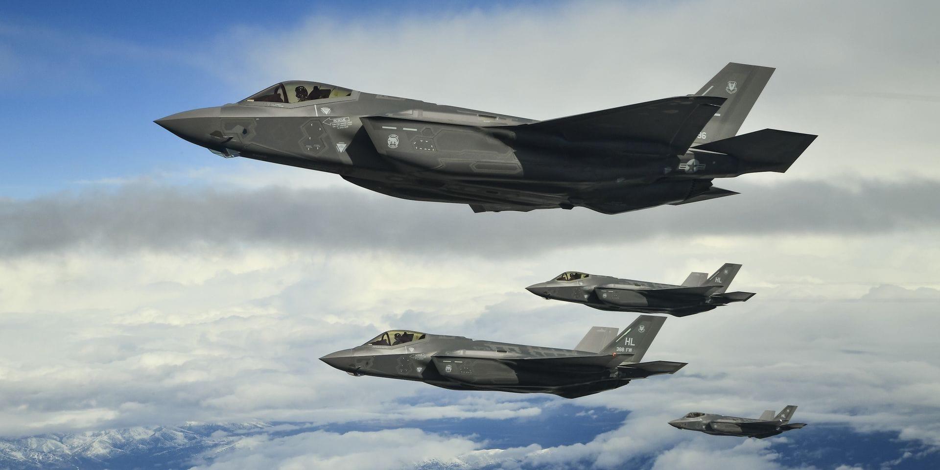 Pourquoi le F35 représente un choix stratégique pour la Belgique