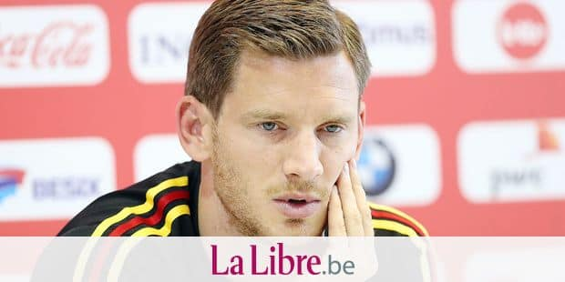Belgium's Jan Vertonghen pictured during a press contact with some players of Belgian national soccer team the Red Devils in Dedovsk, near Moscow, Russia, Monday 25 June 2018. The team is preparing for their third game at the FIFA World Cup 2018, after a rest day yesterday. BELGA PHOTO BRUNO FAHY
