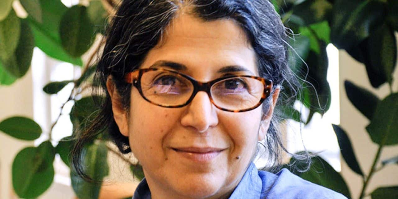 """This handout picture taken in 2012 in an unlocated location and released on July 16, 2019 by Sciences Po university shows Franco-Iranian academic Adelkhah Fariba as Iran confirmed on July 16, 2019 her arrest without giving any details of her case, the latest in a long list of dual nationals held in the country's prisons. - The detention of Fariba Adelkhah, 60, a well-known expert on Iran and Shiite Islam at the prestigious Sciences Po university, risks increasing tension between Paris and Tehran at a critical moment in efforts to save a landmark 2015 nuclear deal. (Photo by Thomas ARRIVE / Sciences Po / AFP) / RESTRICTED TO EDITORIAL USE - MANDATORY CREDIT """"AFP PHOTO / SCIENCES PO / THOMAS ARRIVE"""" - NO MARKETING NO ADVERTISING CAMPAIGNS - DISTRIBUTED AS A SERVICE TO CLIENTS ---"""