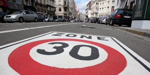 """Des """"zones 30""""pour plus de sécurité et moins de pollution - La Libre"""