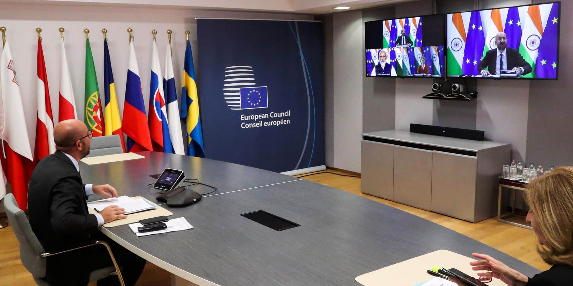 Sommet de l'UE: Charles Michel appelle à un accord sur le plan de relance