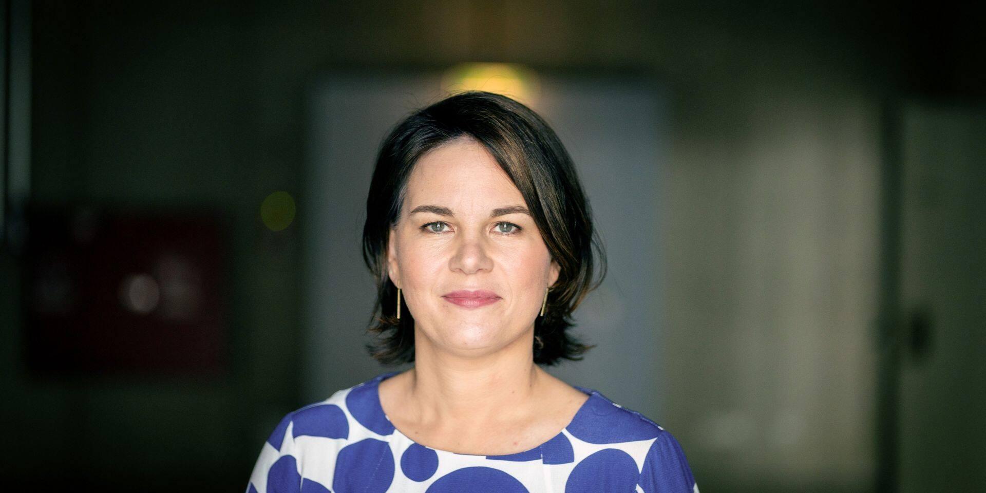 Annalena Baerbock interview with dpa in Berlin