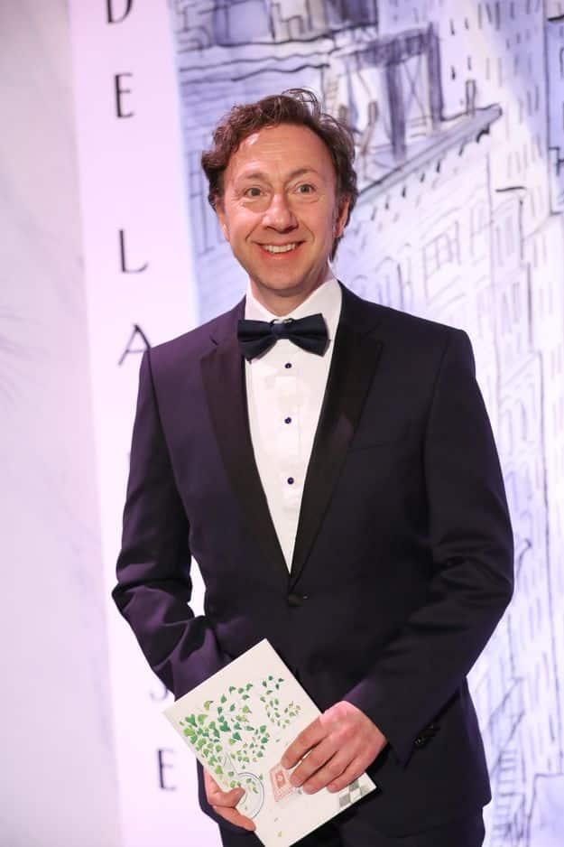 Stéphane Bern animait la soirée.