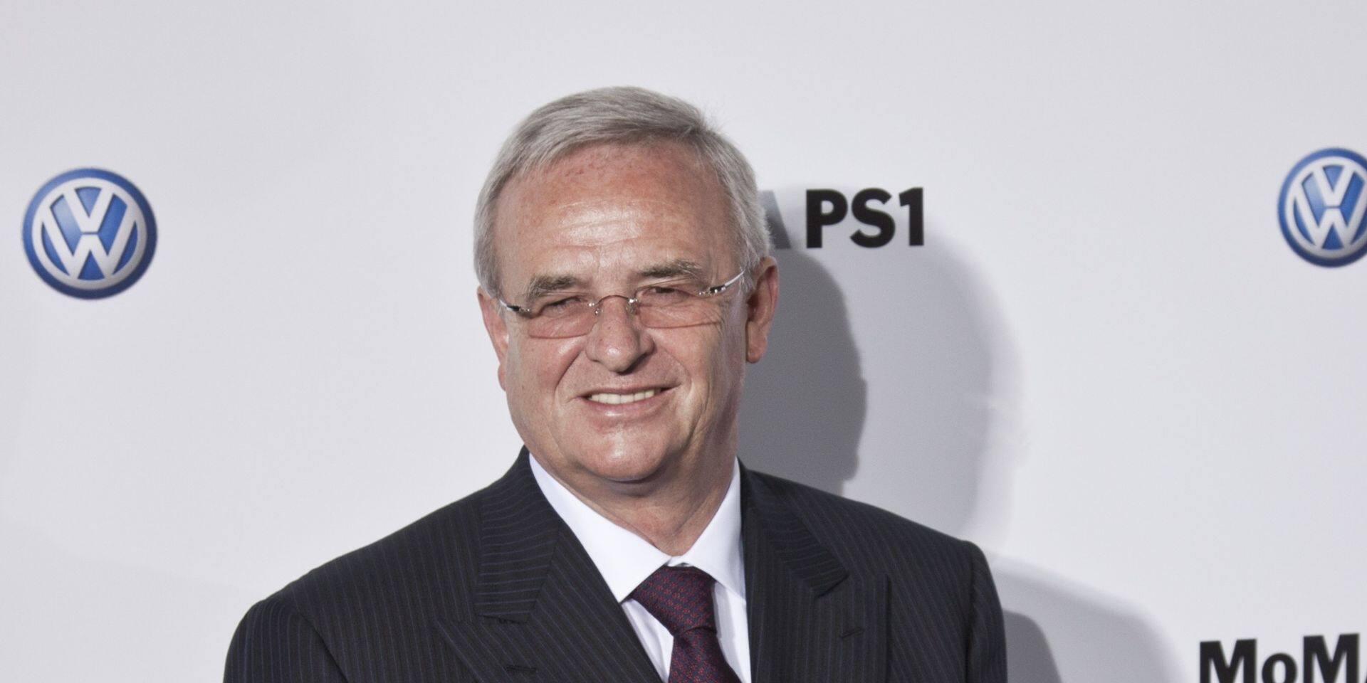 Dieselgate: l'ancien PDG de Volkswagen sera également jugé pour manipulation de cours