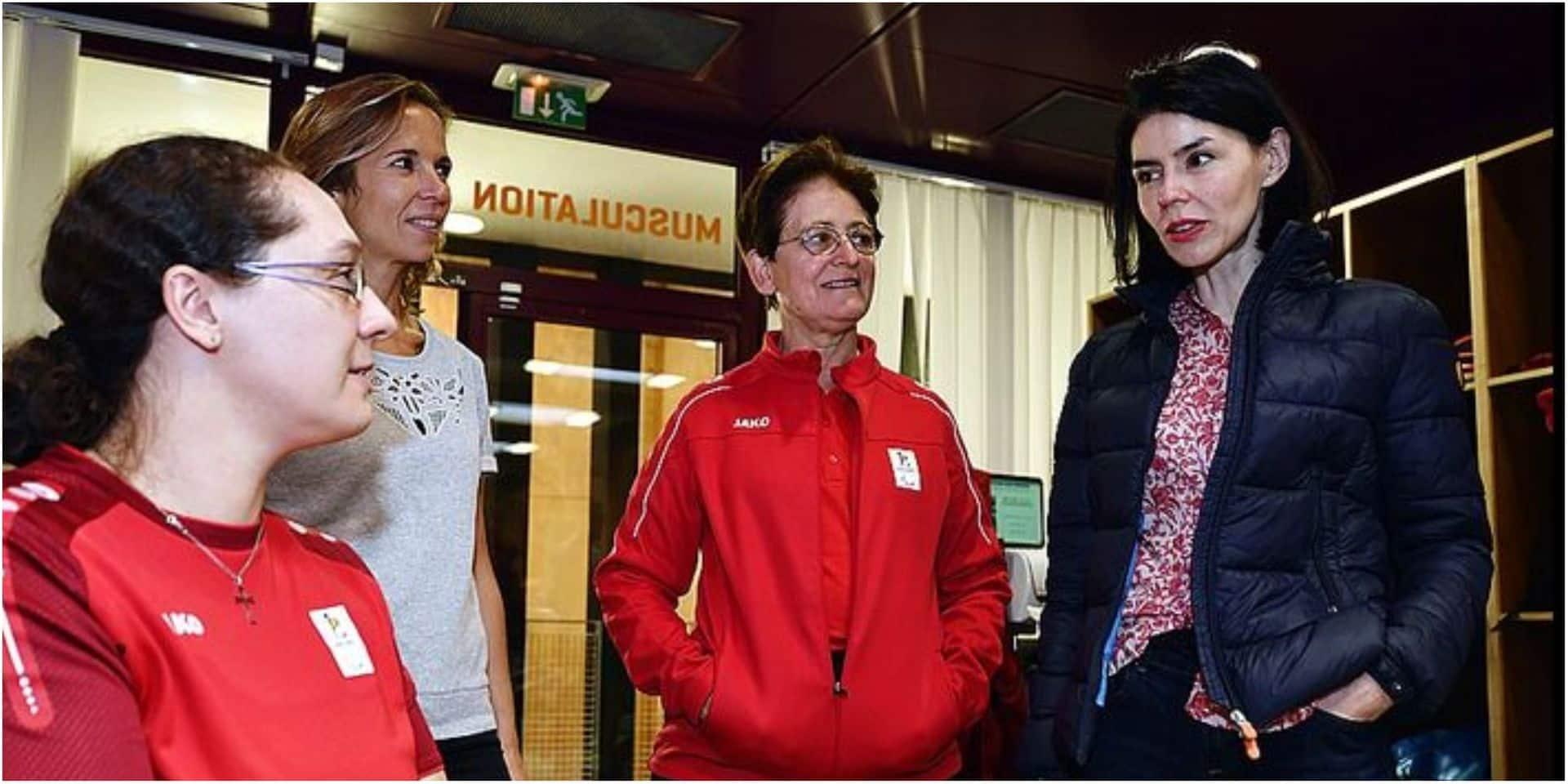 """Valérie Glatigny, la nouvelle ministre des Sports de la FWB, se confie: """"Mes priorités : le sport féminin et le handisport"""""""