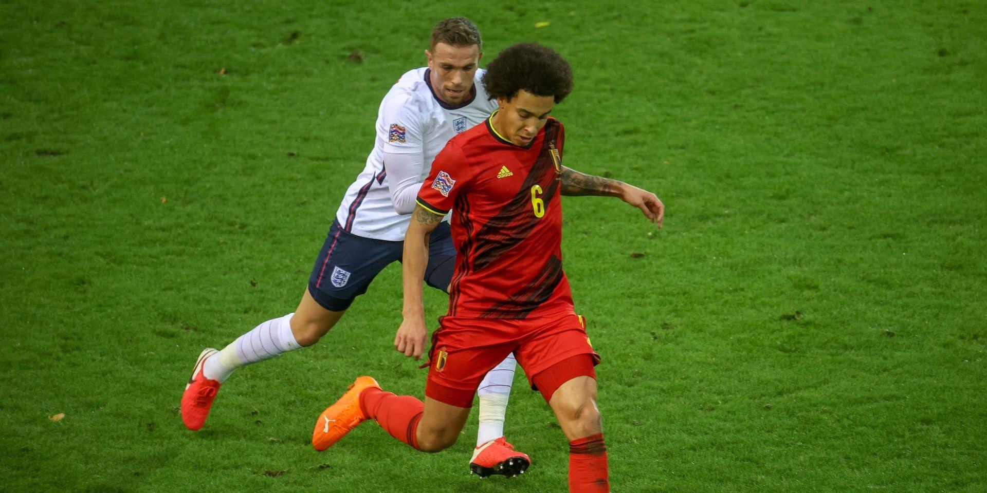 """Martinez va reprendre Witsel dans sa sélection pour l'Euro: """"Nous pouvons prendre ce risque"""""""