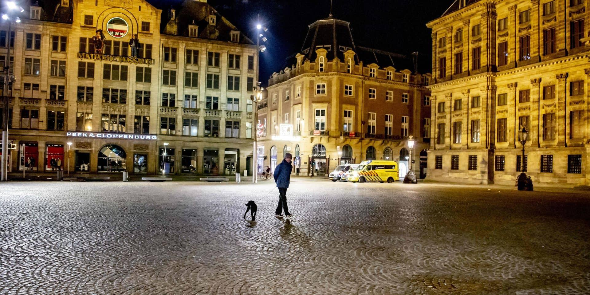 Pays-Bas: retour au calme après trois soirées d'émeutes contre le couvre-feu