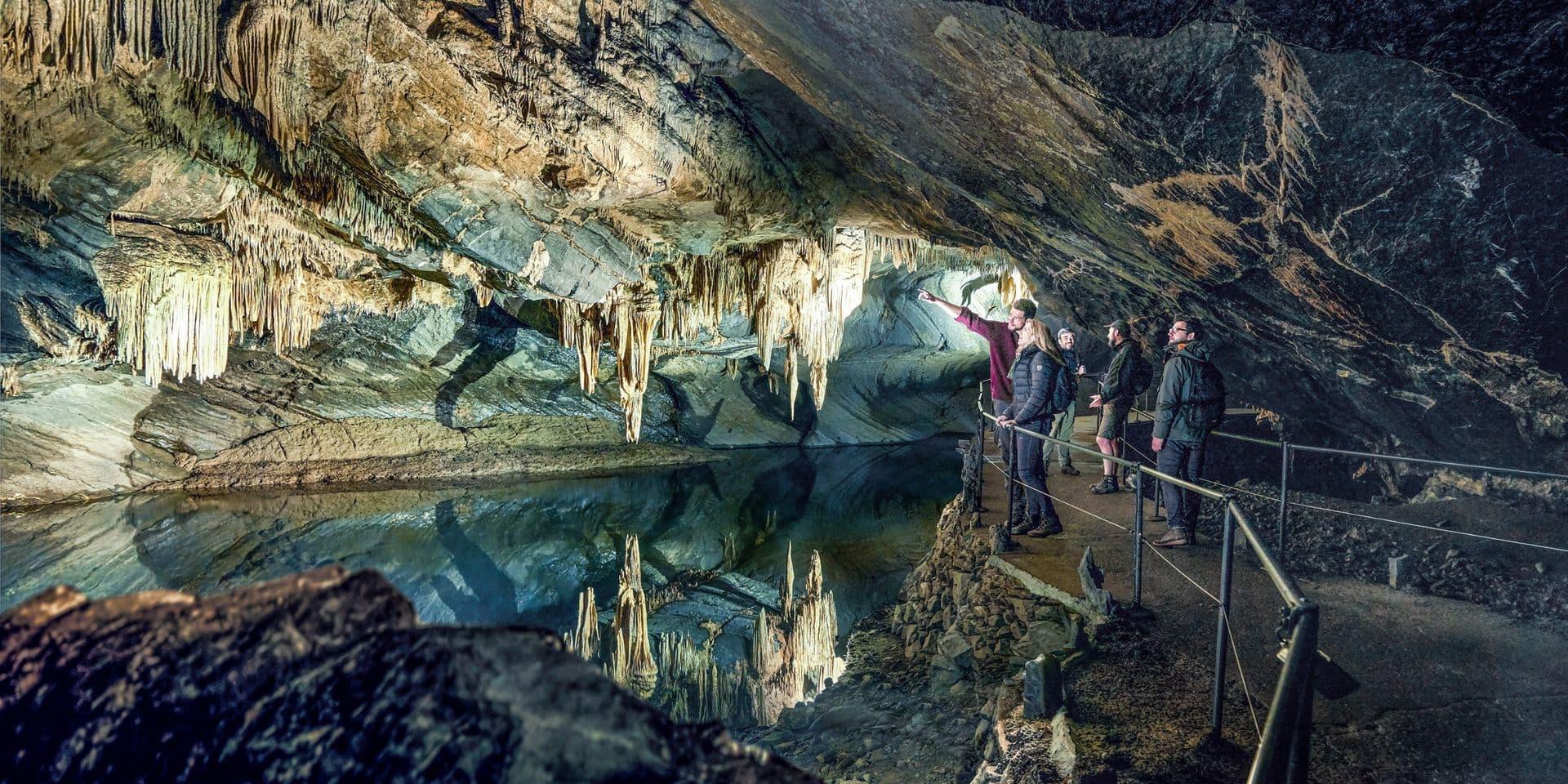 Le Domaine des Grottes de Han à nouveau entièrement ouvert au public