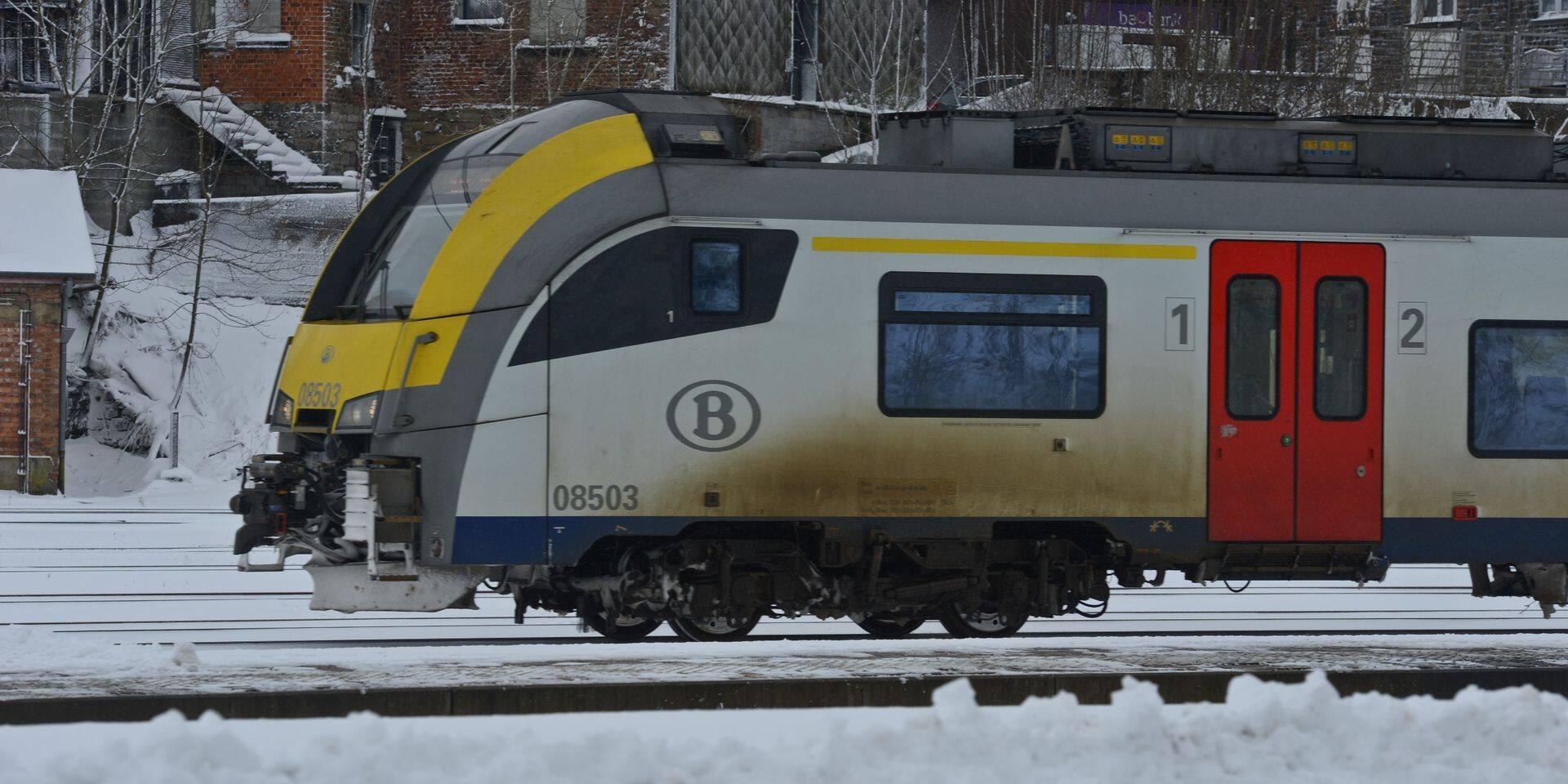 Trafic ferroviaire interrompu entre Rochefort-Jemelle et Libramont en raison d'un incident à hauteur de Poix-Saint-Hubert