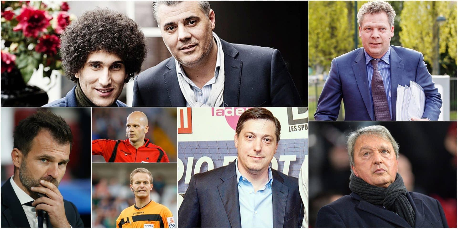 Qui sont les autres acteurs touchés par 'l'opération mains propres' sur le foot belge ?
