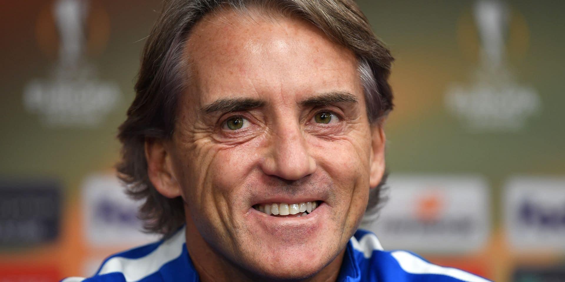 Roberto Mancini est le nouveau sélectionneur de l'Italie