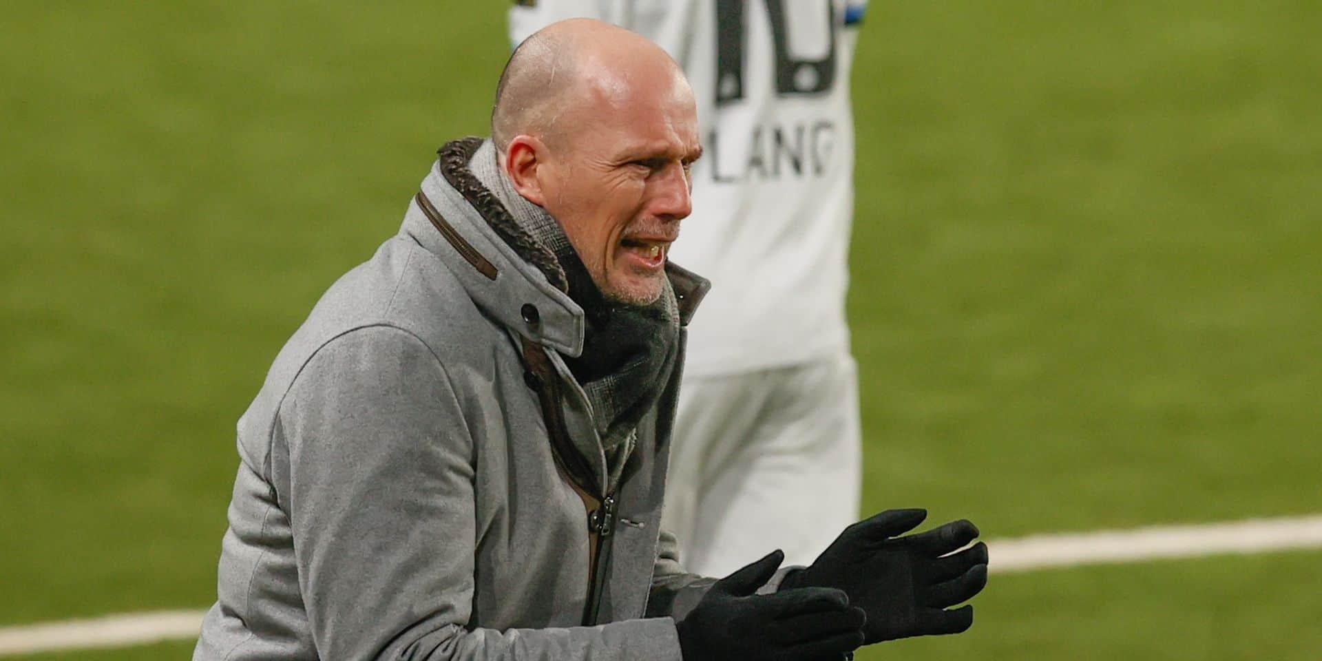 Philippe Clément, mentor du Club de Bruges, élu Entraîneur de l'Année