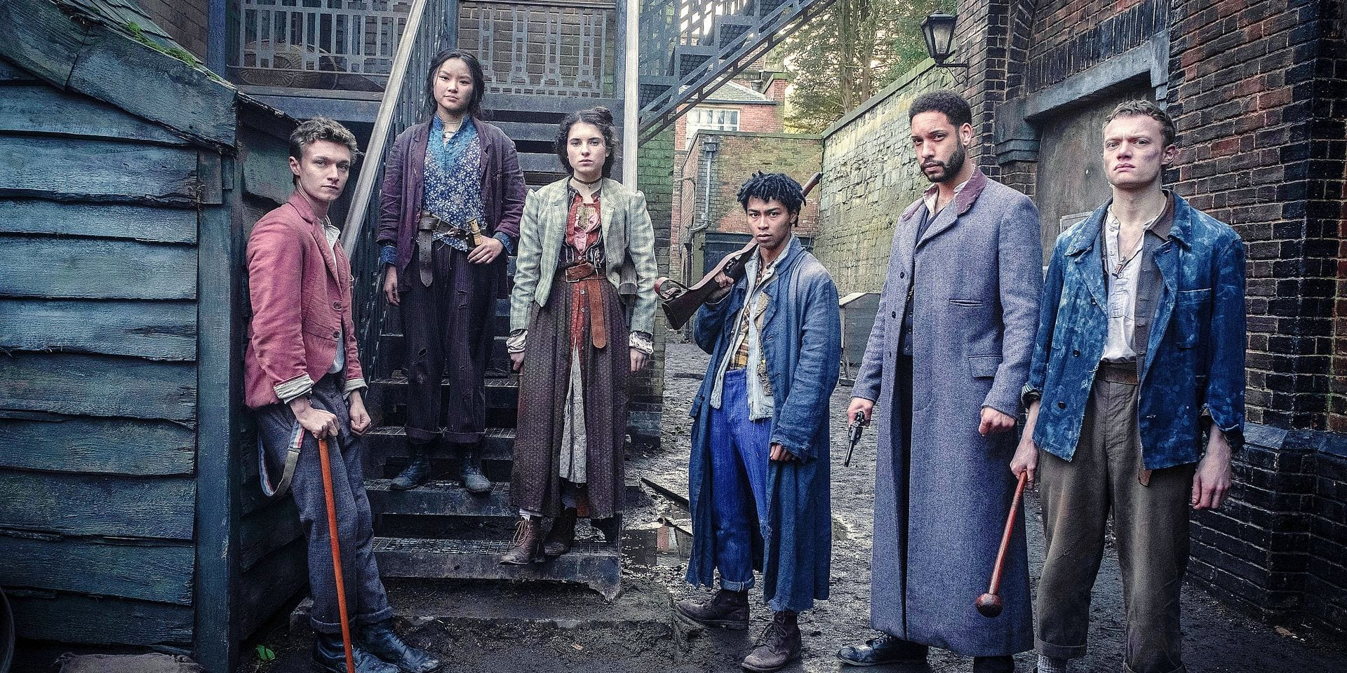 """""""Les Irréguliers de Baker Street"""": une nouvelle variante au sujet de Sherlock Holmes sur Netflix"""
