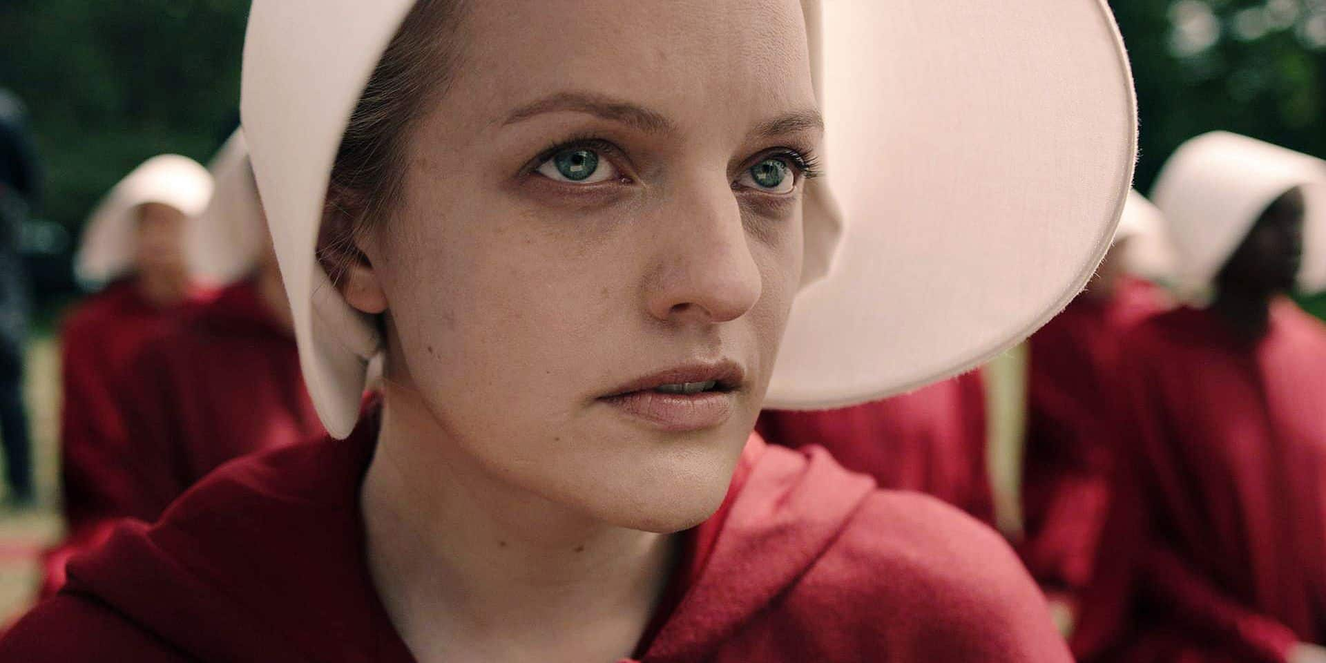 THE HANDMAID'S TALE, Elisabeth Moss, (Season 1, premieres April 26, 2017). photo: Take Five / ©Hulu