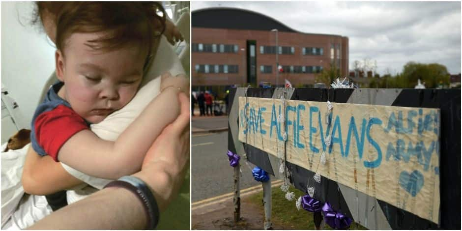 Mort d'Alfie Evans, le bébé britannique au cœur d'une bataille judiciaire