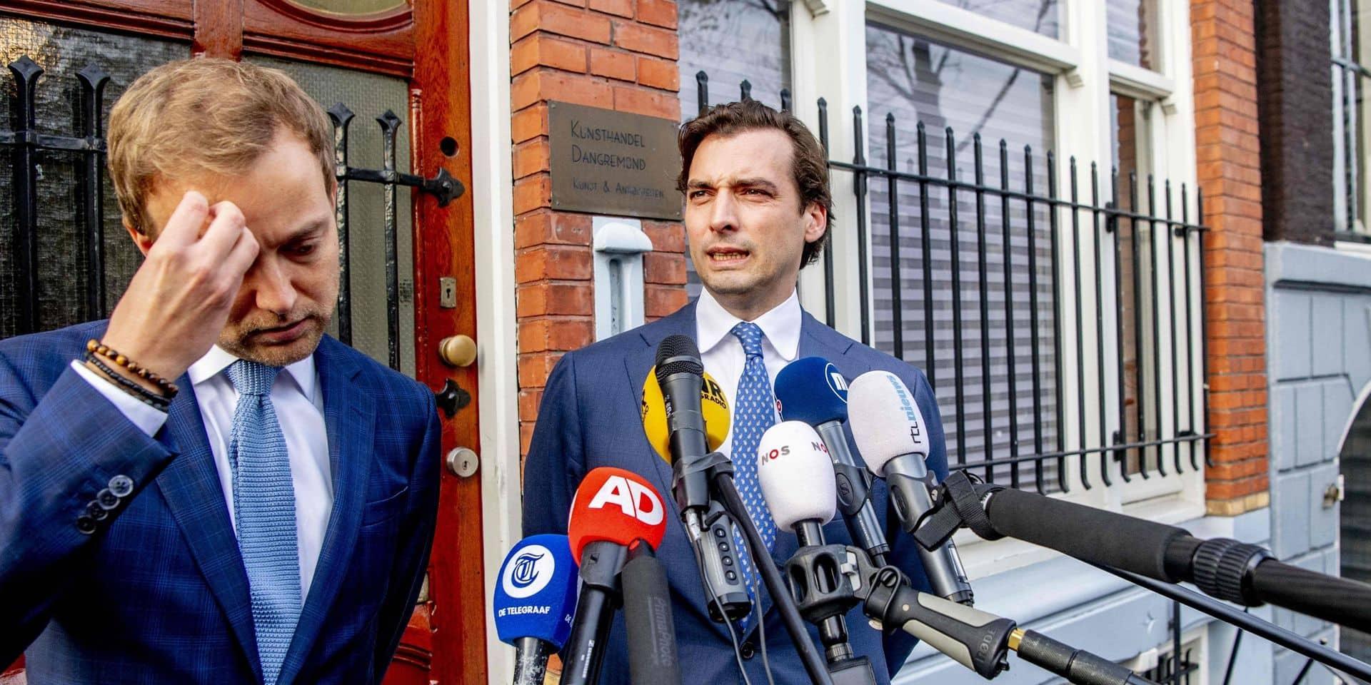 Thierry Baudet restera-t-il président du Forum néerlandais pour la démocratie?