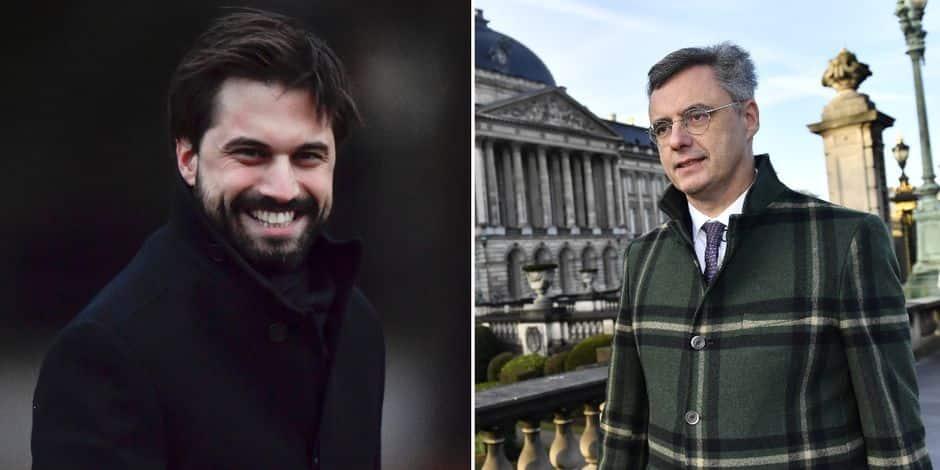 Crise politique: Georges-Louis Bouchez (MR) et Joachim Coens (CD&V) chargés d'une mission d'information par le Roi