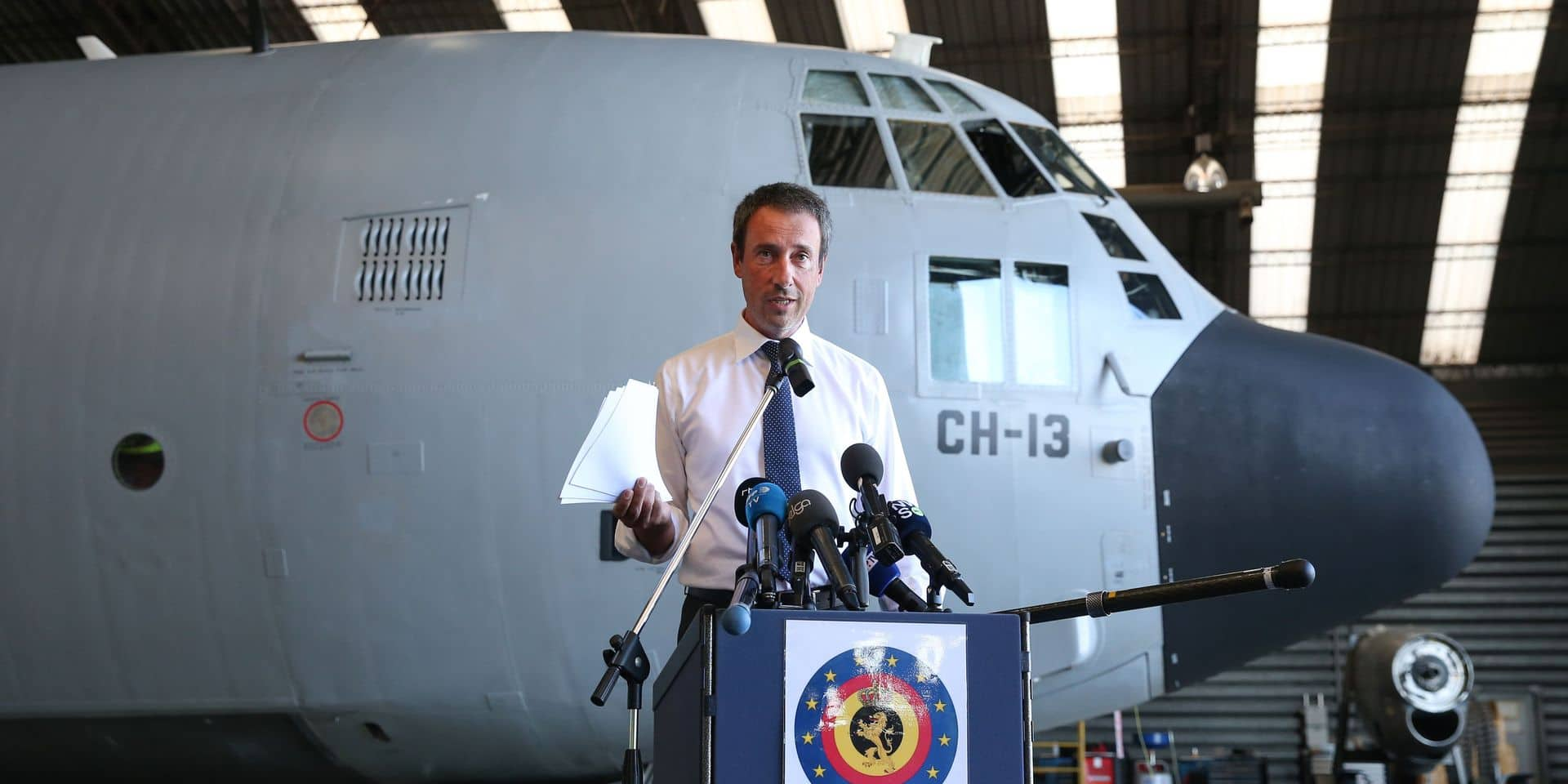 """Philippe Goffin (MR) défend l'action de B-Fast au Liban : """"La Belgique a joué son rôle"""""""
